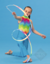 Rainbow Gymnastic Wand (Pack of 12)